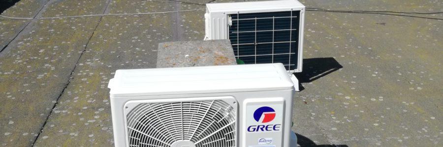 Montaż klimatyzacji w przychodni w Płocku