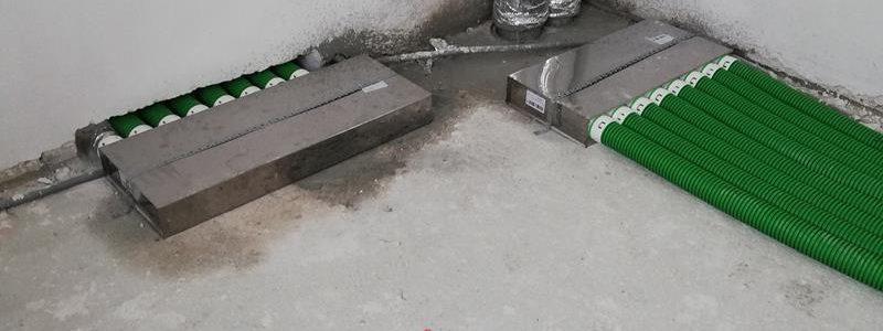 Montaż systemu wentylacji z odzyskiem ciepłego powietrza w Gulczewie