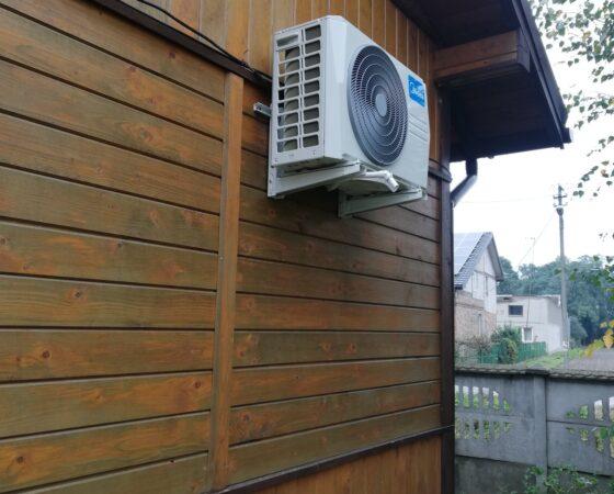 Klimatyzacja do grzania (klimatyzator Midea Extreme ) – montaż w Worowicach