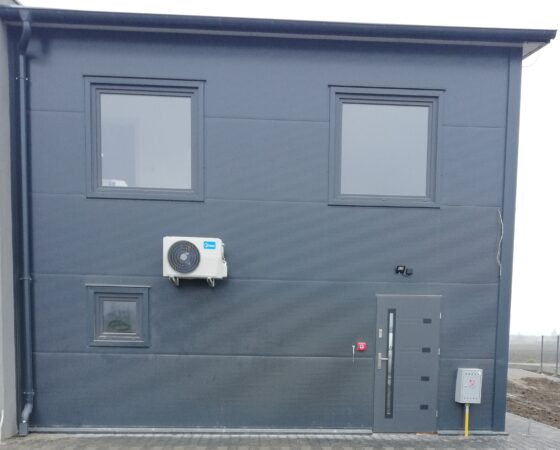 Klimatyzacja w biurze – Midea Blanc 5.0 KW
