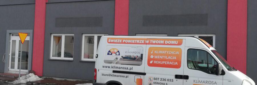 Klimatyzacja w biurze – Płock
